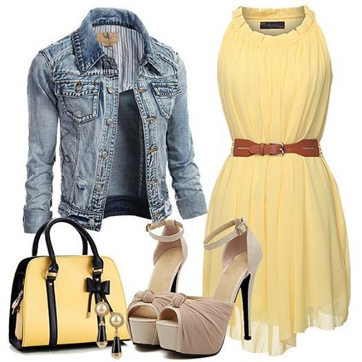 Perfect combination of summer women clothes, Do you like this match ?
