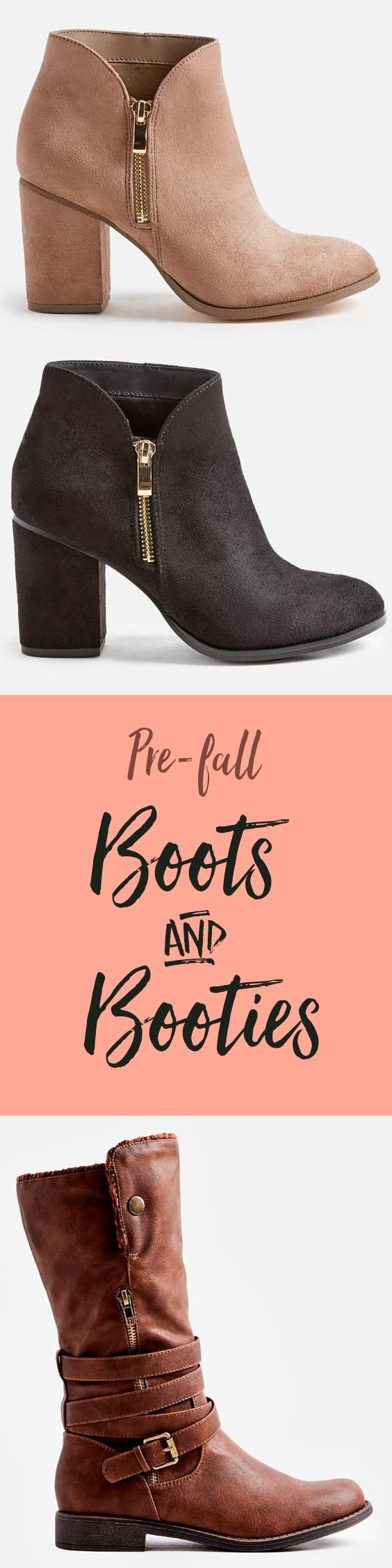 JustFab's Top 3 Boots of the season. Welcome Back Autumn, we missed you!  Whether It's a deep red, Black, or blush Pink, boot season has arrived to your wardrobe by way of these dreamy and rich shoes. Take a look and get inspired by our stylist's take on these chic fall trends.