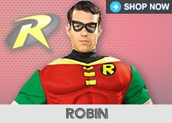 Superhero & Villain Costumes, Outfits & Accessories
