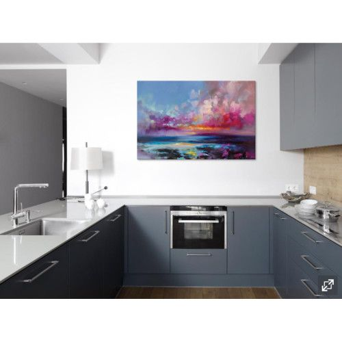 Found it at Wayfair - Arran Glow Painting Print on Canvas