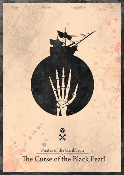 Pirates of the caribbean 1 curse of the black pearl for Art minimal facebook