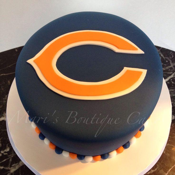 Best 25 Chicago Bears Cake Ideas On Pinterest