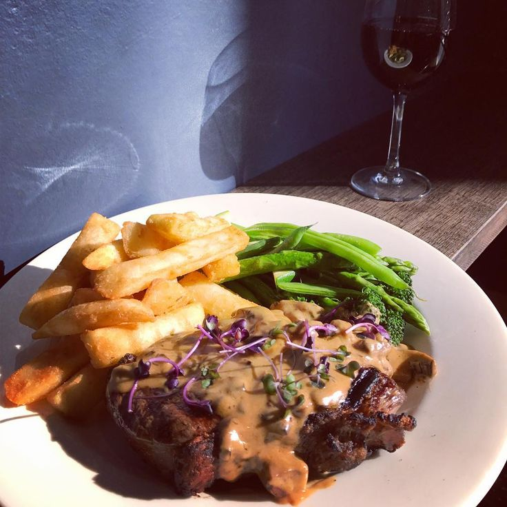 """65 Likes, 4 Comments - The National Hotel (@nhgeelong) on Instagram: """"🐮 Tuesday Steak Night 🐮 300g Porterhouse Served With Chips, Salad or Greens & your Choice of Sauce…"""""""