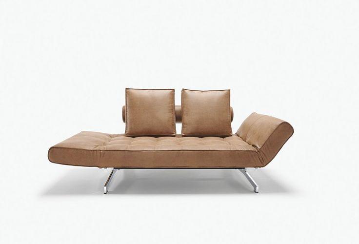 Canapé lit design GHIA faunal INNOVATION convertible 90*210cm