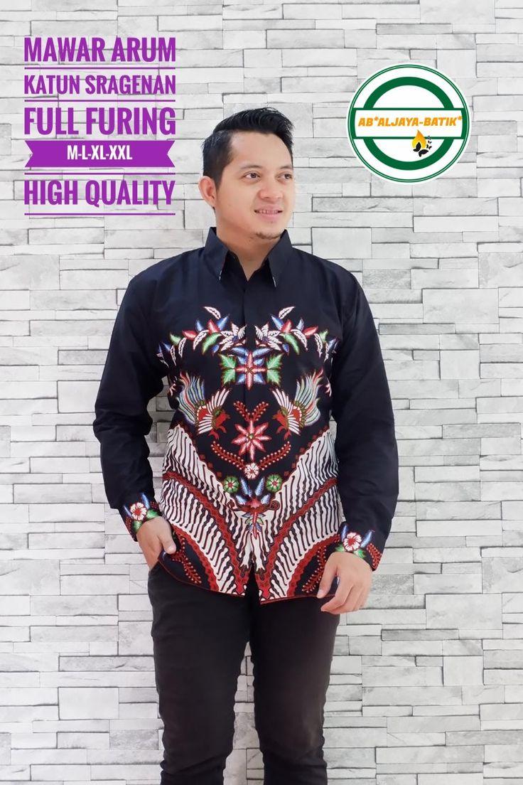 Kemeja Batik Solo Bajawa Full Furing 081388851771 in 2020