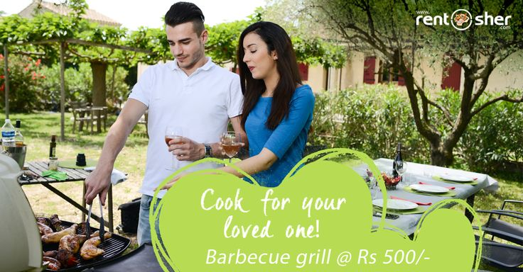 There are many ways to showcase your #love towards your special ones in life. Express your love to special ones by cooking with love on this #Valentine's Day by hiring #Barbeque grills from RentSher. Valentine's Day party specials available on rent at affordable prices with delivery and pickup across #Bangalore and #Delhi. Visit us today for more details. Bangalore: http://bit.ly/2kzJcSg Delhi: http://bit.ly/2k91bP1