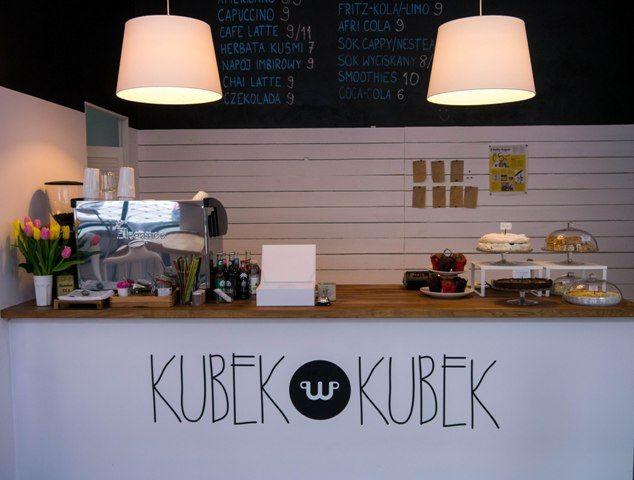 Kubek w Kubek Cafe in Warsaw