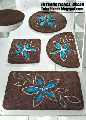 1000 ideas about bathroom carpet on pinterest carpet for Brown and turquoise bathroom ideas