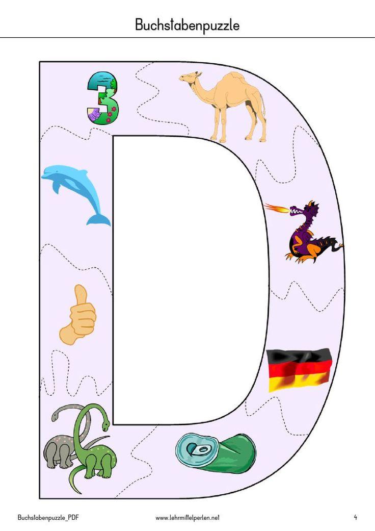 10 best buchstabenpuzzle images on pinterest | pdf, puzzle