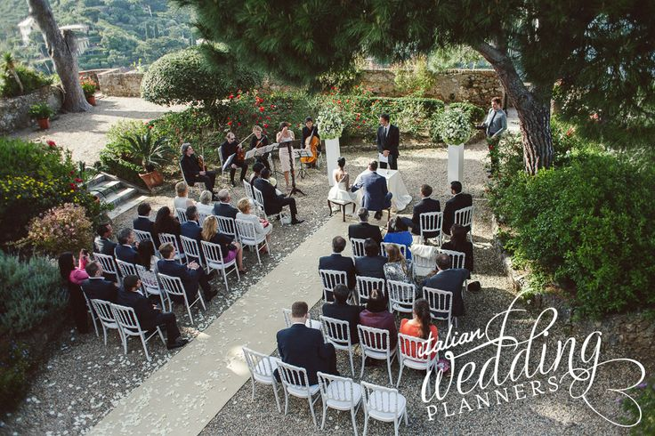 Portofino wedding ceremony  For info e-mail: info@italianweddingplanners.com