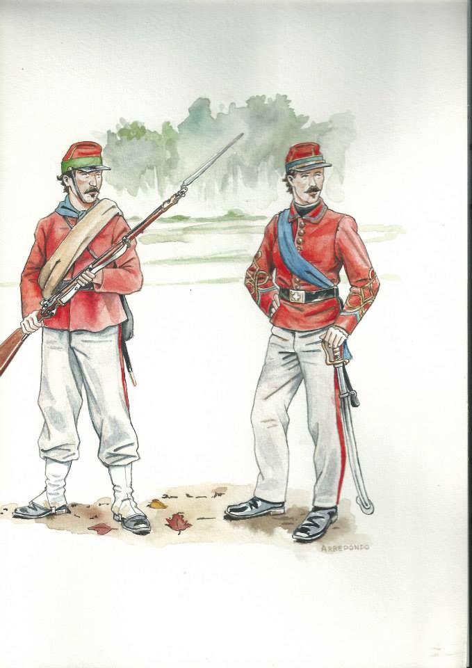 Le camicie rosse dei Garibaldini