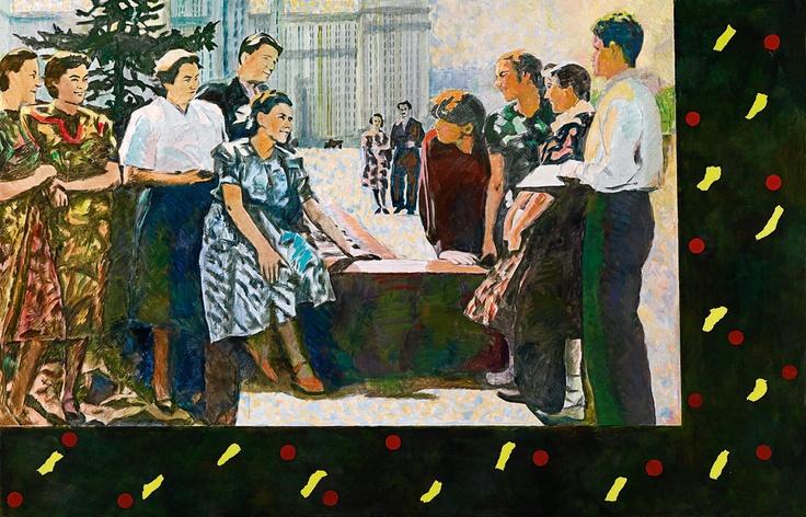 "Ilya Kabakov ""Bei der Universität 1972 Art Experience NYC www.artexperiencenyc.com"