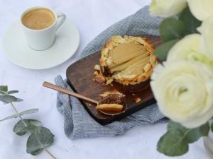 Tartelettes poire – amande – chocolat • Hellocoton.fr