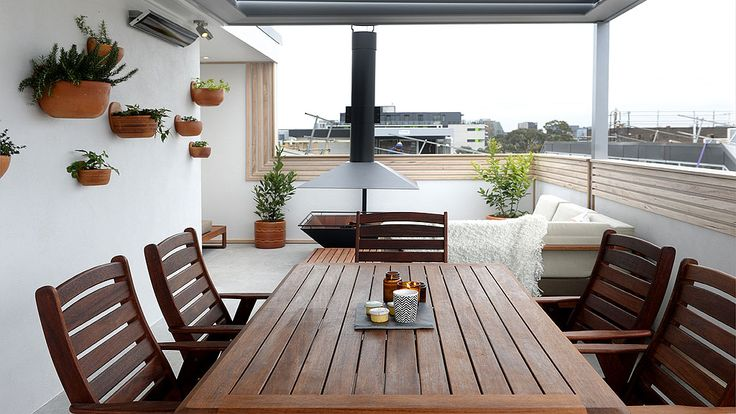 In Pictures: Shannon + Simon's impressive rooftop terrace | The Block Glasshouse | 9Jumpin