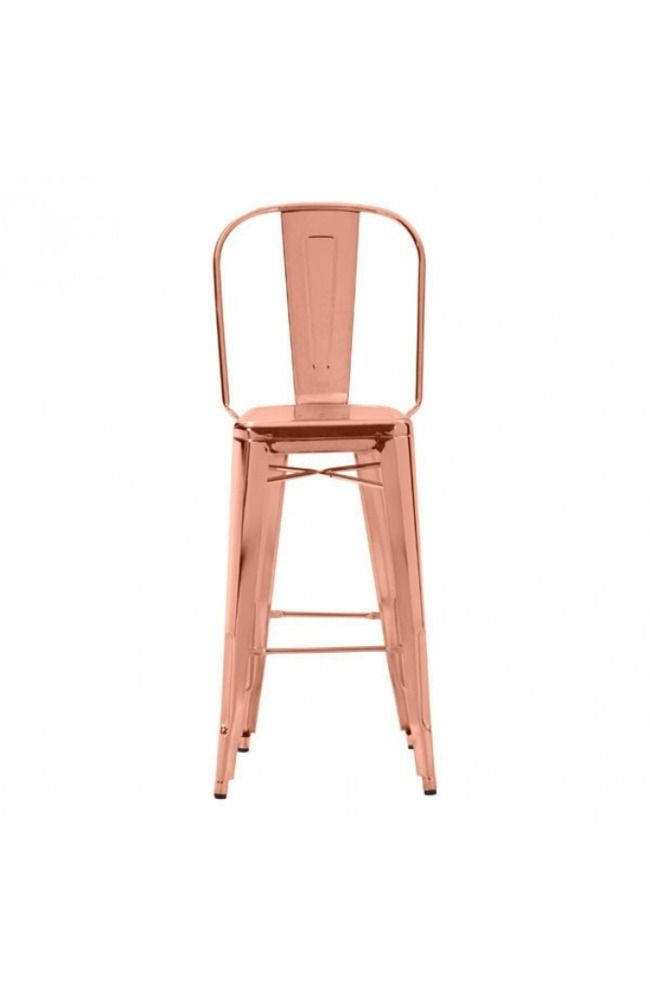 Elio Bar Chair Rose Gold - Zuo Modern - $298 - domino.com: