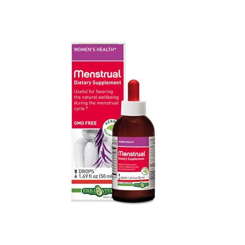 Erba Vita Menstrual Drops – 50 ml – 1.69 fl oz