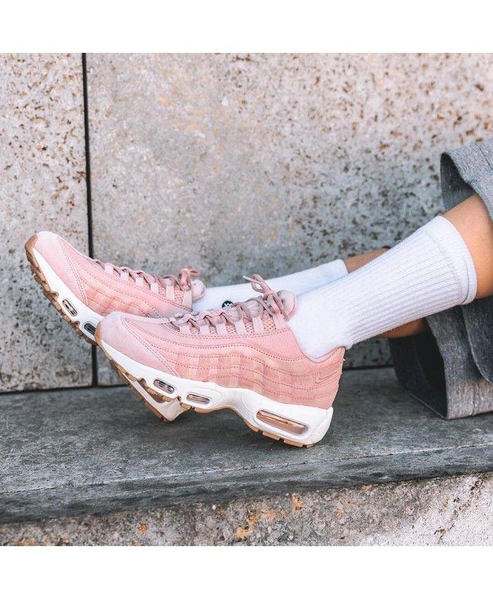 Nike WMNS Air Max 95 Premium Pink Oxford | Sneakerworld.dk