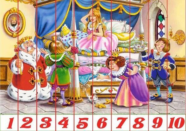 puzzel -De Prinses op de Erwt-