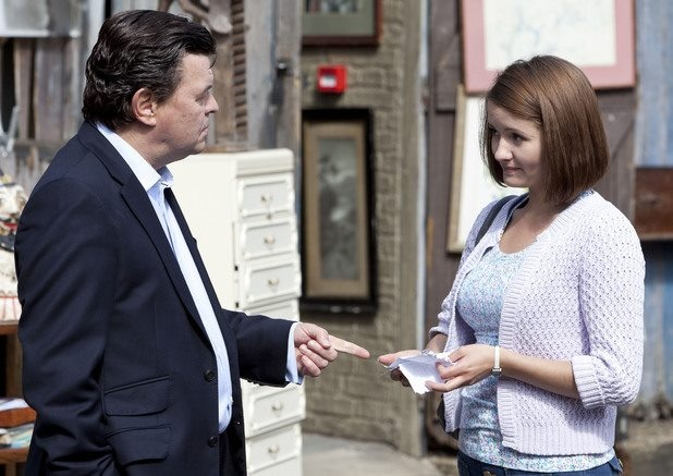 Derek and Alice Branning played by Jamie Foreman and Jasmyn Banks