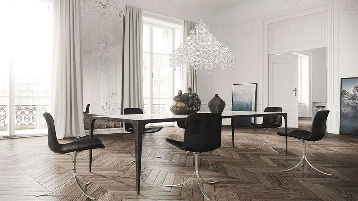 Classical apartment by Jessica Vedel