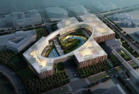 The overall campus planning strategy for the Baidu Science and Technology Campyu... 2