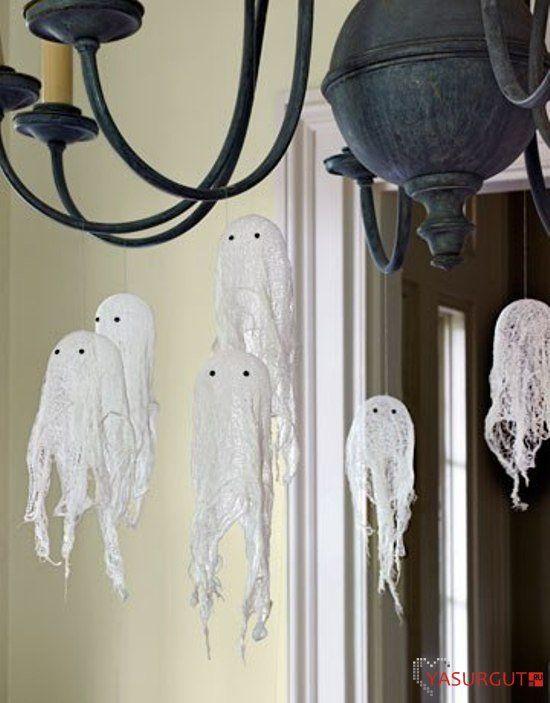 Как украсить дом на Хэллоуин, несколько  фотоподборок
