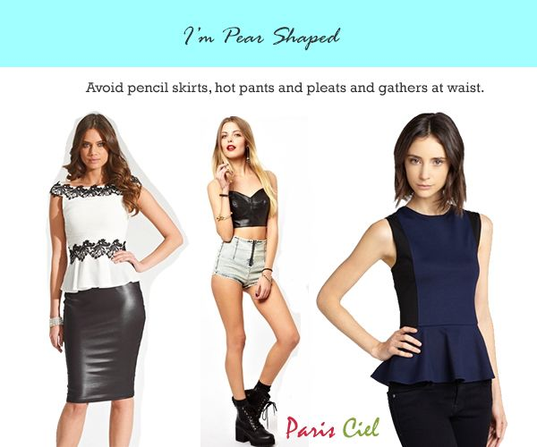 Tips & Tricks to Dressing Pear Shaped Body - Paris Ciel - EN