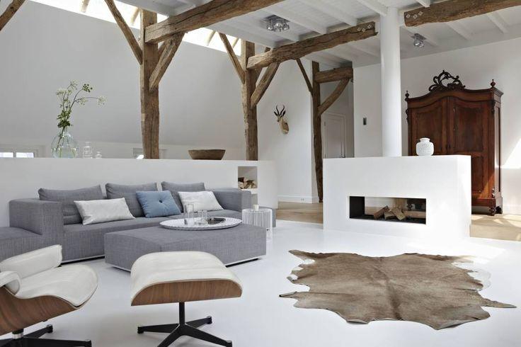 Villa Borkeld: Landelijk Woonkamer door reitsema & partners architecten bna
