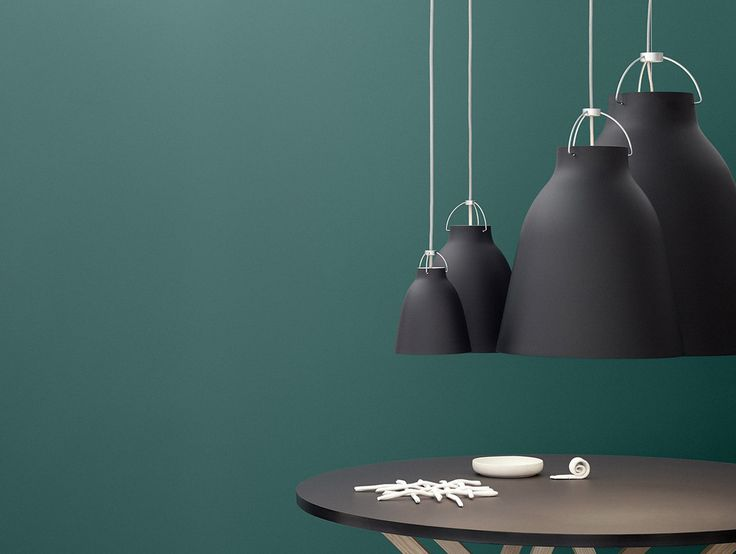 Black Caravaggio Matt Pendant by Lightyears