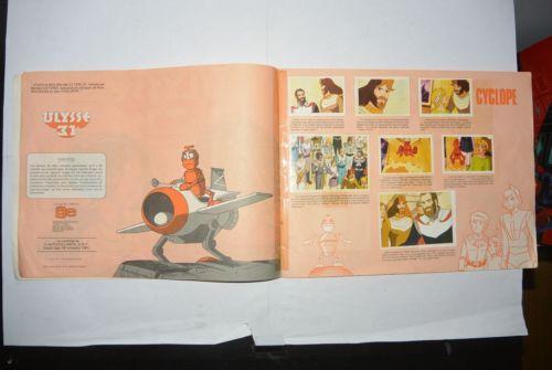 Album-AGE-Ageducatifs-Panini-Vintage-Ulysse-31-COMPLET-No-Popy-Ceji