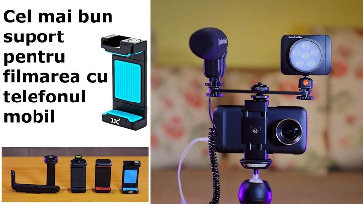Comparatie Suporti universali pentru filmarea cu telefonul mobil