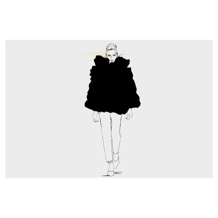 #fashionillustration   Abena Kissiedu