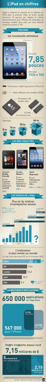 L'ipad mini en chiffres