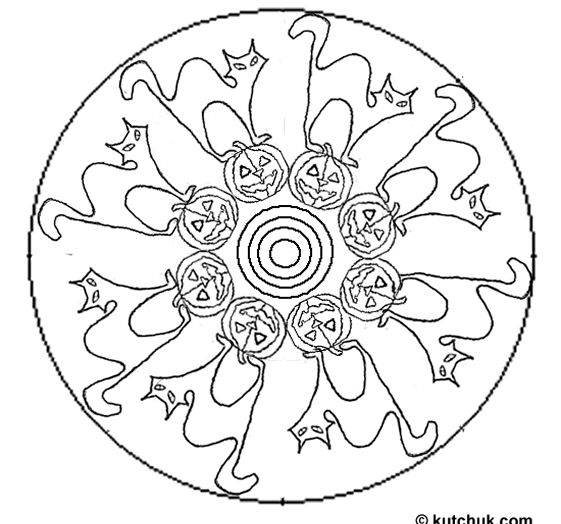 witch mandala coloring pages - photo#25