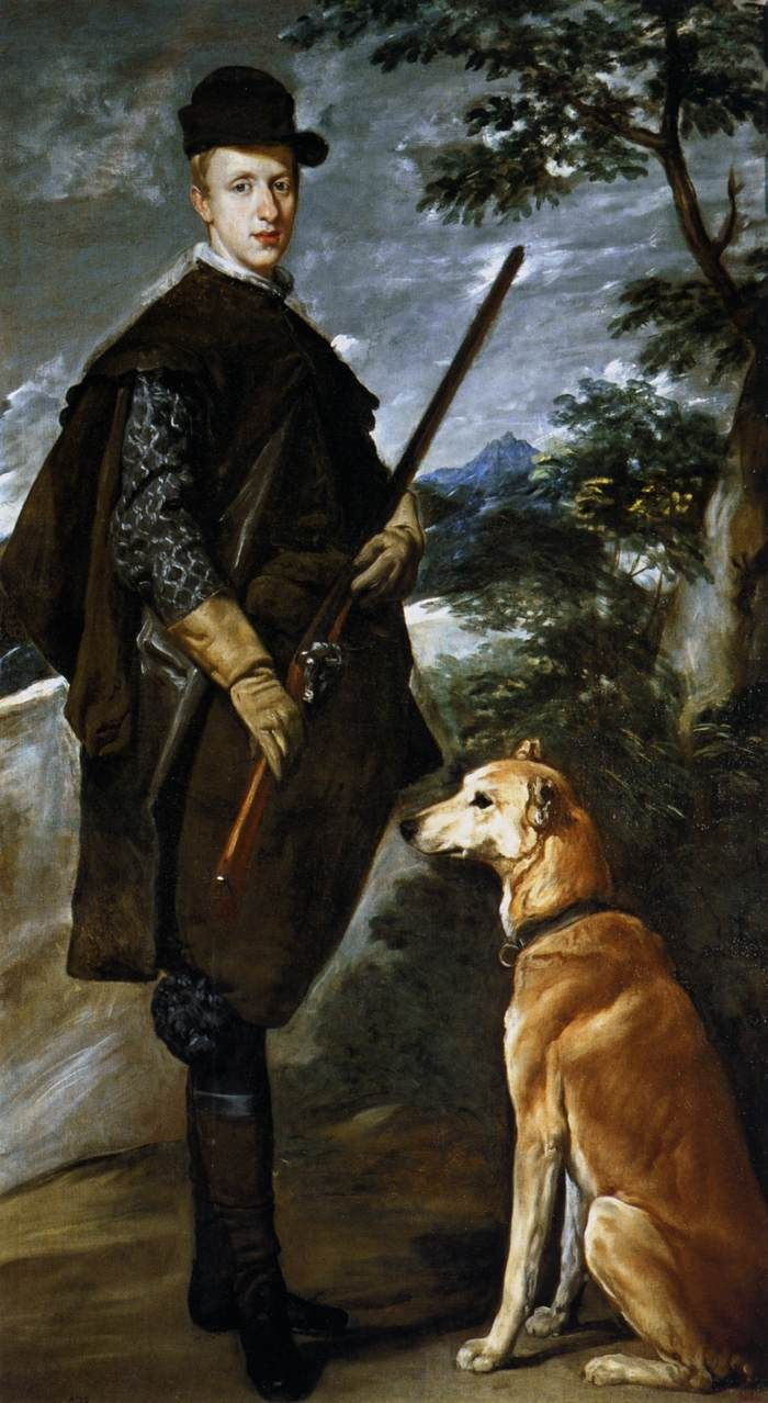 Diego Velázquez, Cardinal Infante Don Fernando as a Hunter, 1632-1633, oil on canvas, 192 x 108 cm (Museo del Prado, Madrid)