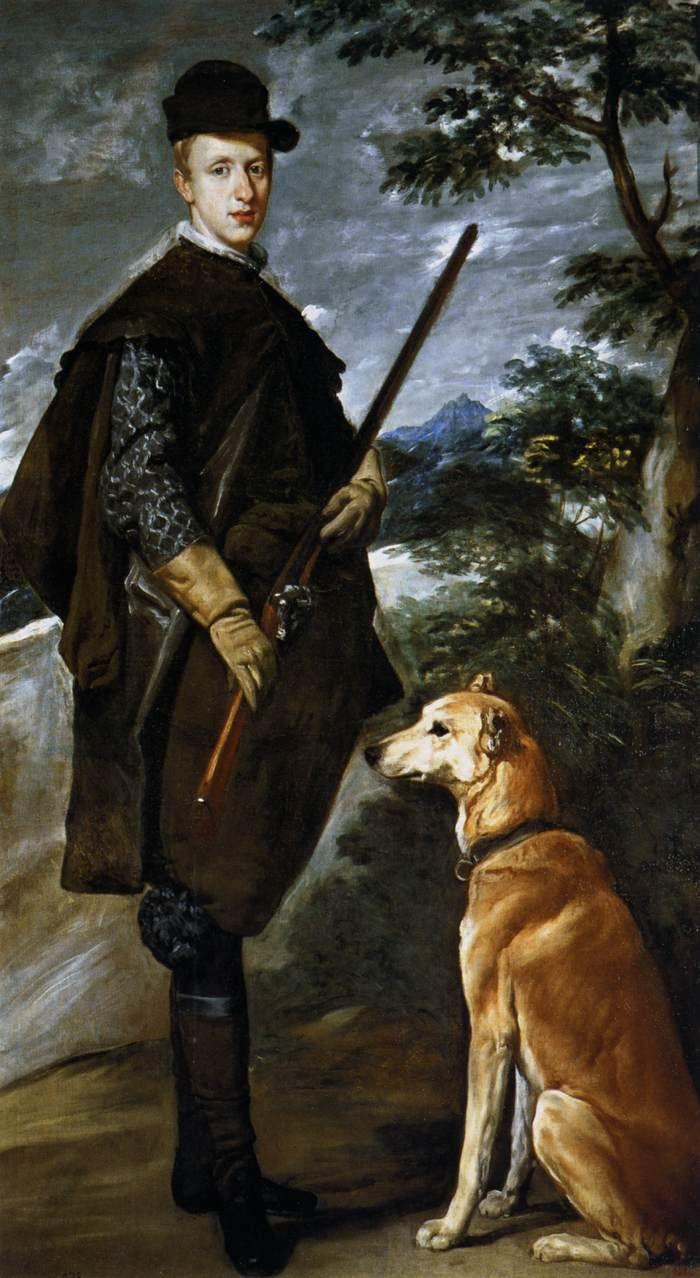 Diego Velázquez, Cardinal Infante Don Fernando as a Hunter, 1632-1633, oil on canvas, 192 x 108 cm (Museo del Prado, Madrid)