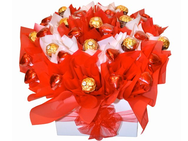 For You, Boxed, Chocolate Bouquet