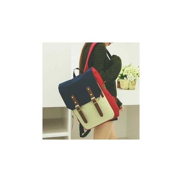 Buckled Backpack ($32) ❤ liked on Polyvore featuring bags, backpacks, accessories, olive backpack, army green backpack, olive green backpacks, strap backpack and buckle backpack