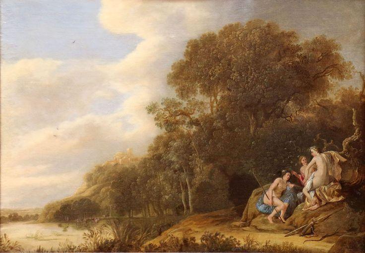 Alexander Keirincx (1600–1652) oil on canvas 56.5 × 80.5 cm (22.2 × 31.7 in) Musée des beaux-arts de Carcassonne