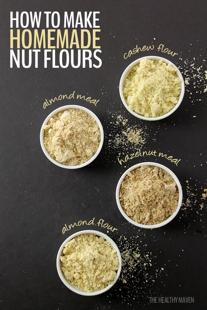 How To Make Homemade Nut Flours