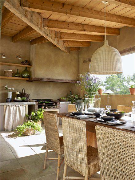 Pavimentos para cocinas de exterior barbacoa cocinas y - Pavimentos para cocinas ...