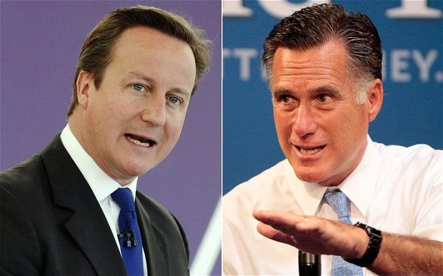 Olympics: David Cameron rejects Mitt Romney's suggestion Britain is not ready (The Telegraph) - David Cameron has rejected suggestions from Mitt Romney, the US presidential candidate, that Britain is not prepared to run and celebrate the Olympic Games.