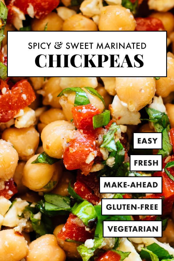Jessica's Marinated Chickpeas This easy Moroccan Red Lentil Soup recipe is s…