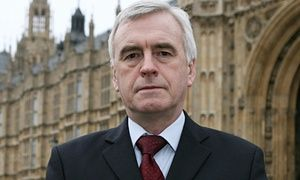 John McDonnell, MP for Hayes and Harlington, who is Corbyn's close friend and campaign manager.