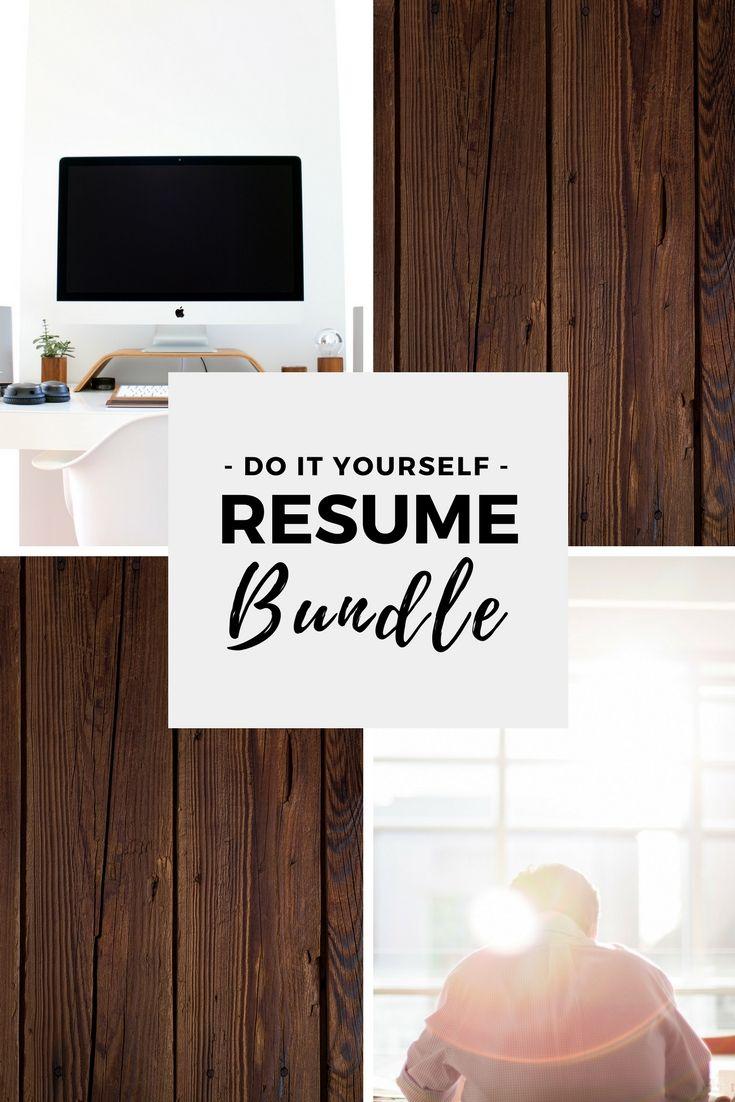 DIY Resume Bundle 229 best Resume Tips