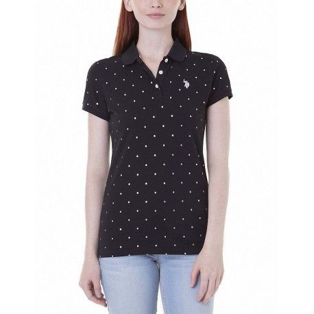 Camiseta Polo US Polo Lurex Dot