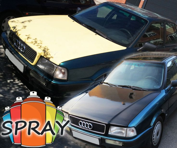 How to paint a car with spray in the street 50 paint for Painting my car