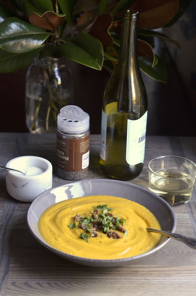 Chipotle Maple Butternut Squash Soup from Always Order Dessert   a ...