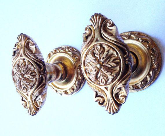 gorgeous pair of vintage door knobs by on etsy - Vintage Door Knobs