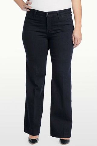 Best Trouser Jeans for Your Body Type: Plus Size Figure